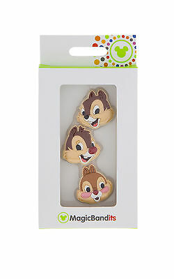 Disney Parks Chip Dale Clarice Magic Band Bandits Set of 3 Charms