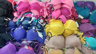 NEW Wholesale Resell Lot Assorted Design Bras 12 Pieces Pushup Sport Underwear
