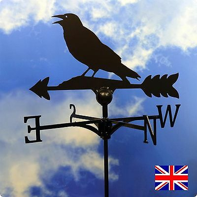 High Quality British Made Rook Weathervane-(99B)