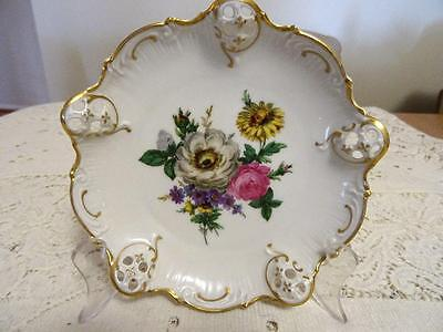 C1948 Rosenthal Moliere Pierced 3 Footed Dish As New