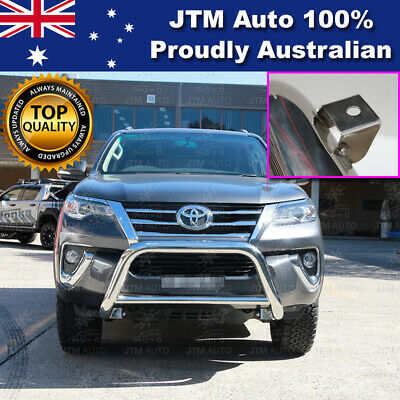 """TOYOTA Fortuner Nudge Bar 3"""" Stainless Steel Grille Guard 2015 2016 0217"""
