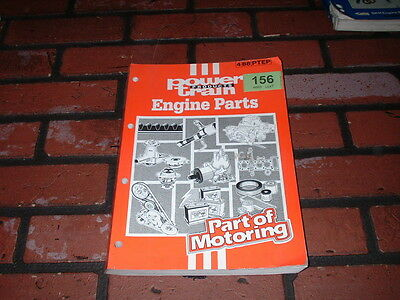 Genuine Power Train Products Engine Parts Catalogue. 1988.
