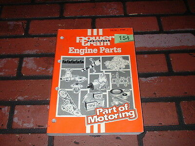 Genuine Power Train Products Engine Parts Catalogue. 1989.