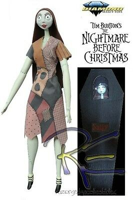 Diamond Select Toys The Nightmare Before Christmas Unlimited Sally Coffin Doll