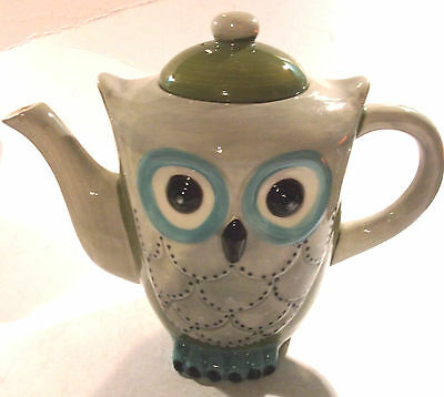 Owl Themed Teapot- New And So So So Cute! Twit Twoo!!!!