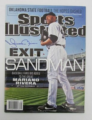 Mariano Rivera Yankees Signed/Autographed Sports Illustrated NO LABEL JSA N82193