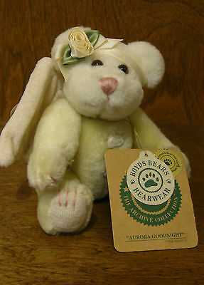 Boyds Plush Ornaments #56232-12 Aurora Goodnight NEW/Tag From Retail Store
