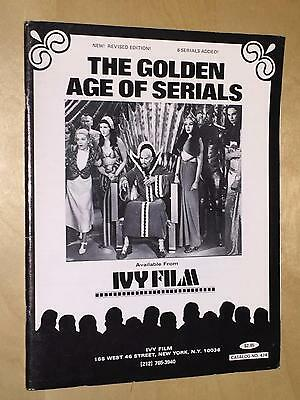 Ivy Film Catalog Golden Age Of Serials Flash Gordon Crimson Ghost Masked Marvel