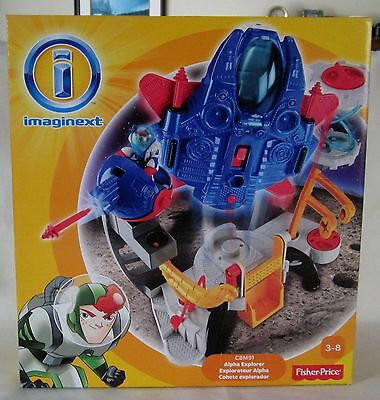NEW 2013 Fisher Price IMAGINEXT Alpha Explorer
