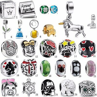 Charm Beads Pandent dangle For S925 silver Charms Necklace Chains Bracelets k