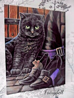 'trouble And Squeak'  Lisa Parker Mystic Cat & Mouse Design Canvas Wall Print