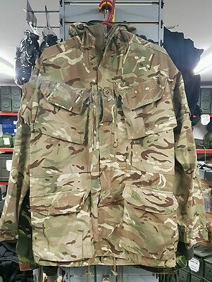 170/88 - British Army Issue PCS Windproof MTP Camo Hooded Combat Smock 2 Cadet