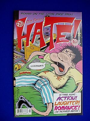 Hate 28 Peter Bagge.  Colour, 1st.