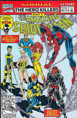 Amazing Spiderman Annual # 26 (guest:New Warriors)(USA)