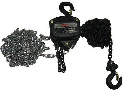 1.0 Ton Hand Chain block with 6 mtrs Height Of Lift / hoist
