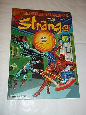 """STRANGE no 152"" (1982) MARVEL / LUG / DAREDEVIL / IRON MAN / SPIDERMAN / ROM"