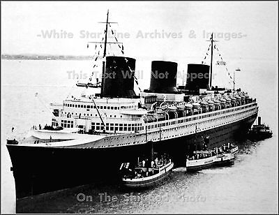 Photo: Nice View: The SS Normandie At Le Havre, France, Mid 1936