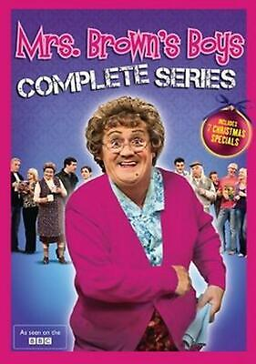 Mrs. Brown's Boys:complete Series - DVD Region 1 Free Shipping!