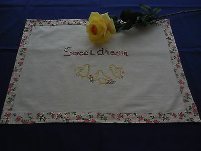 Vintage Layover Pillow Sham Sweet Dream for Child