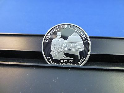 2009 S Silver Quarter District of Columbia Deep Cameo Mirror Proof