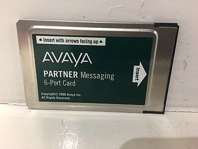 Refurbished Avaya Partner Messaging 6-Port Card - 700262470