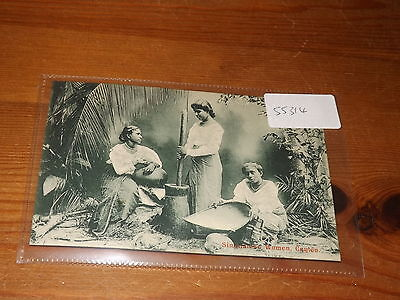 Old CEYLON  postcard our ref #55314 SINGHALESE WOMEN