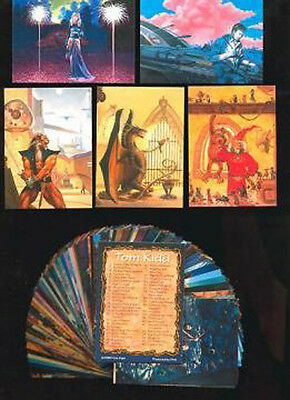 TOM KIDD - 90 Card FPG Fantasy Art Set - FREE US Priority Mail Shipping
