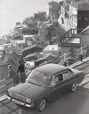 Ford Taunus 17M Two Door Saloon, Period Photograph.