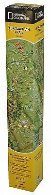National Geographic Reference Map: Appalachian Trail Wall Map by National...