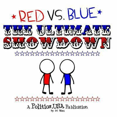 Red vs. Blue: The Ultimate Showdown! by DC Ward (English) Paperback Book Free Sh
