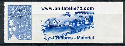 Timbre  France Neuf Vignette Personnalise N° 3729B ** Autoadhesif Voiture