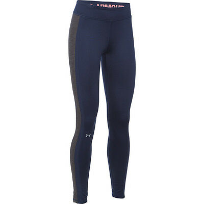 Under Armour Coldgear Compression Leggings Women Damen Hose Legging 1281237-411