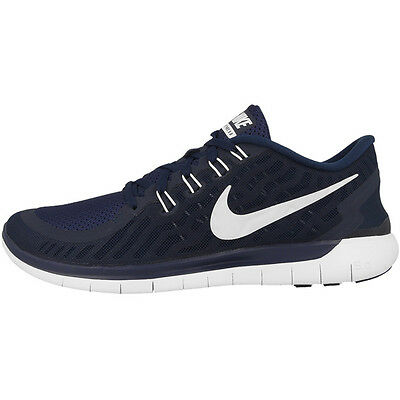 Nike Free 5.0 Men Herren Laufschuhe 724382-404 navy white 4.0 3.0 V6 Run Tavas