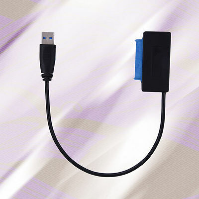 """USB 3.0 to SATA Converter Adapter Cable for Laptop 2.5"""" Hard Drive Disk HDD"""