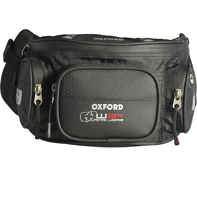 Oxford XW3R Motorcycle Waist Pack Bum Bag Motorbike 3 L Pouch Luggage GhostBikes