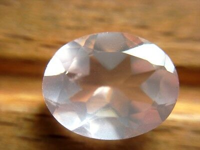 ROSENQUARZ  -  OVAL FACET  -  10x8 mm  -  2,10 ct.