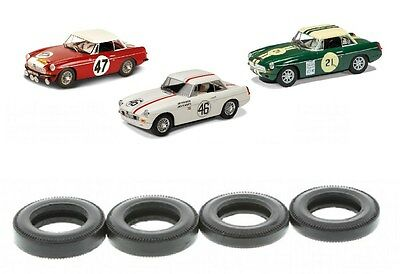 New Scalextric W10094 Tyres Pack For MG MGB C3143 C3312 C3270A C3415 C3488 C3631