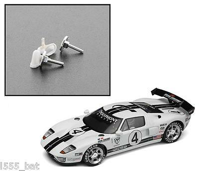 New Genuine Scalextric W9974 Ford GT Wing Mirrors & Fuel Filler Caps For C2995