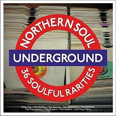 Northern Soul Underground Vinyl Lp - 36 Soulful Rarities