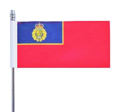 """Royal Canadian Mounted Police (RCMP) The """"Mounties"""" Ultimate Table Flag"""