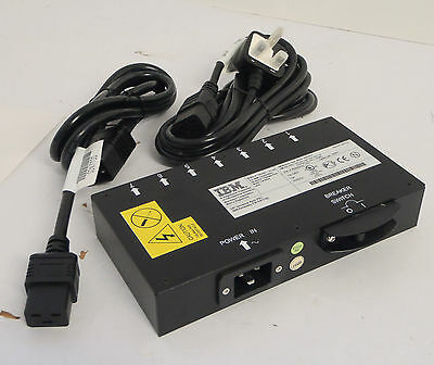New IBM 9306-RTP PDU 32P1721 32P1762 with UK Power Cables Manual