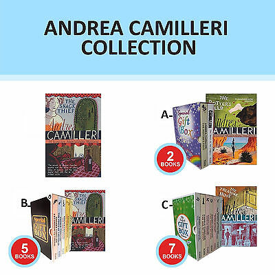 Inspector Montalbano Collection Set By Andrea Camilleri Gift Wrapped New