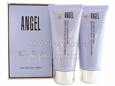 Angel Thierry Mugler Perfuming Shower Gel 100ml & Body Lotion 100ml Box Set SEAL