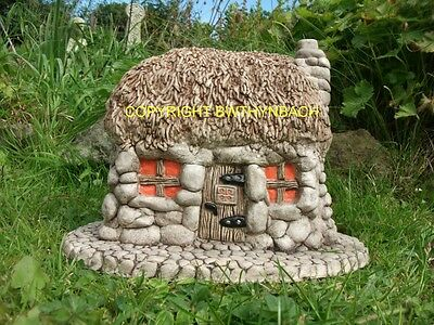 New Design  Latex Mould Mold Thatched Roof Crofters Cottage Welsh,scottish,irish