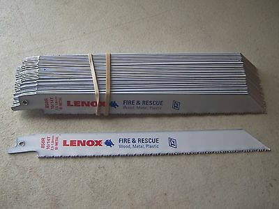 """Lenox 850R Fire & Rescue 8"""" x 10/14 TPI Reciprocating Saw Blades (25 PACK)"""