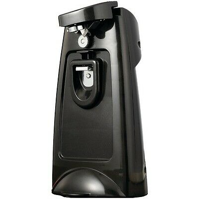 Brentwood Appliances BTWJ29B Can Opener w/Chromed Built-in Bottle Opener