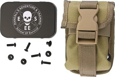 ESEE Knives ESEE-52-POUCH-K Accessory Pouch For RC5/6 Hard Sheath Khaki