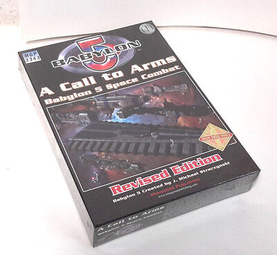 A Call to Arms BABYLON 5 Space Combat Boxed Game from Mongoose-SEALED  (M-5409)