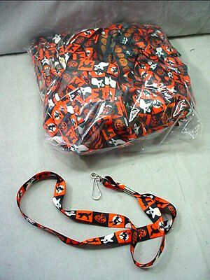 "Wholesale Lot Of 95 Halloween Lanyards 20"" With Witches Ghosts Jack O Lanterns"