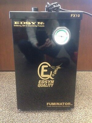 Edsyn Fx10 Fuminator, Fume Extraction